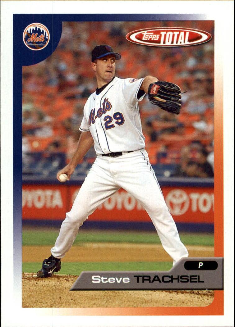 2005 Topps Total #61 Steve Trachsel