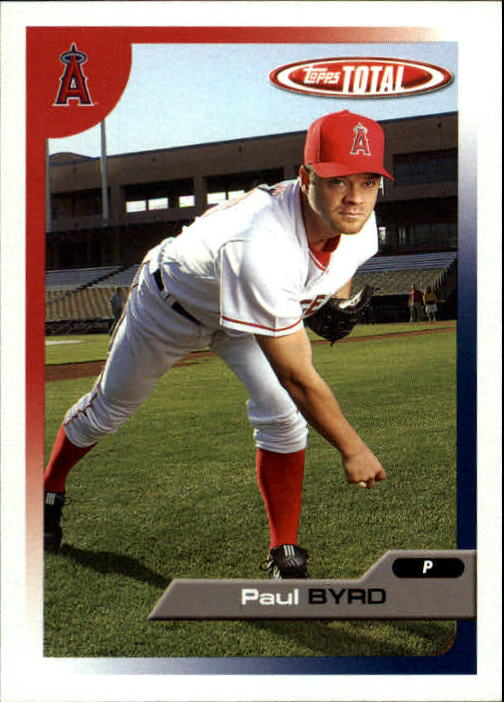2005 Topps Total #204 Paul Byrd