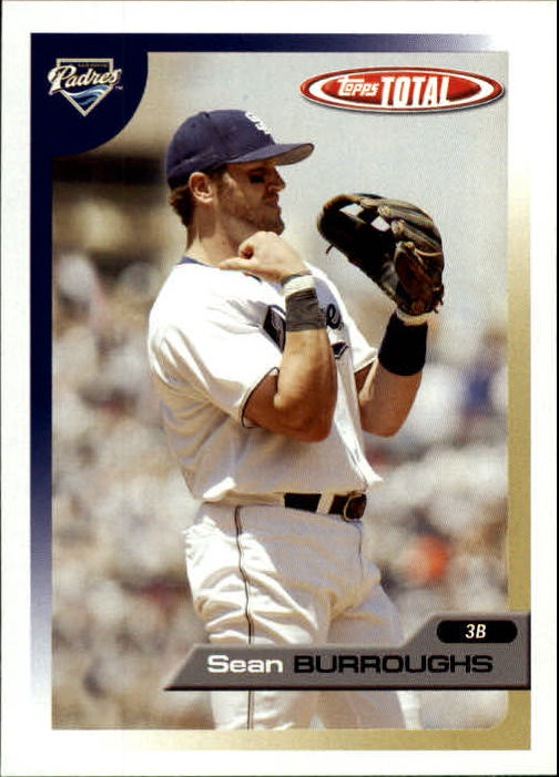 2005 Topps Total #447 Sean Burroughs
