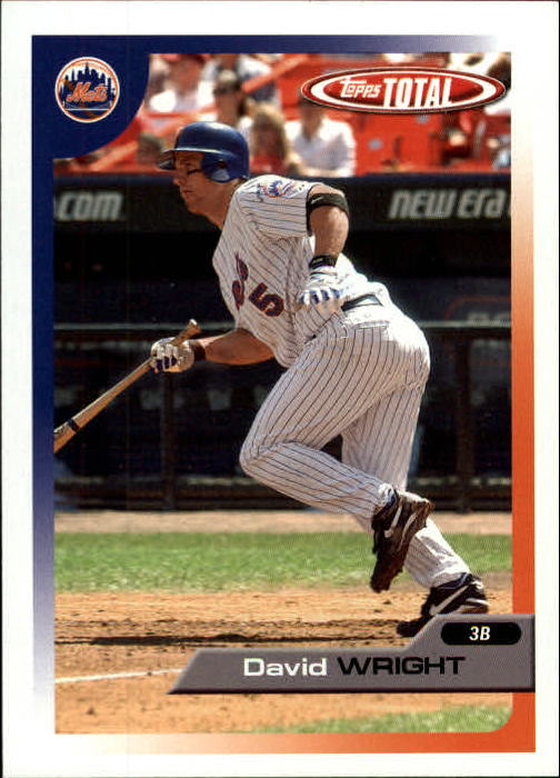 2005 Topps Total #480 David Wright