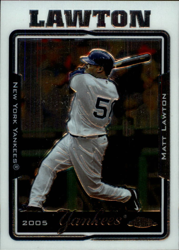 2005 Topps Chrome Update #8 Matt Lawton
