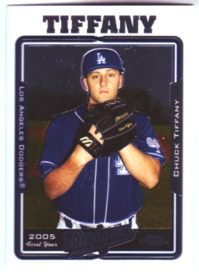 2005 Topps Chrome Update #116 Chuck Tiffany FY RC