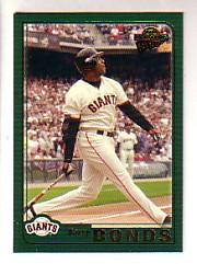 2005 Topps All-Time Fan Favorites #142 Barry Bonds