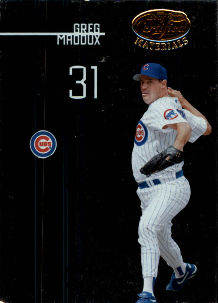 2005 Leaf Certified Materials #46 Greg Maddux Cubs
