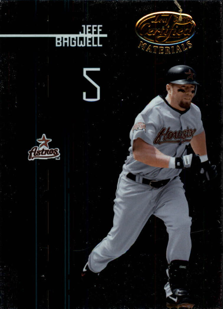 2005 Leaf Certified Materials #63 Jeff Bagwell