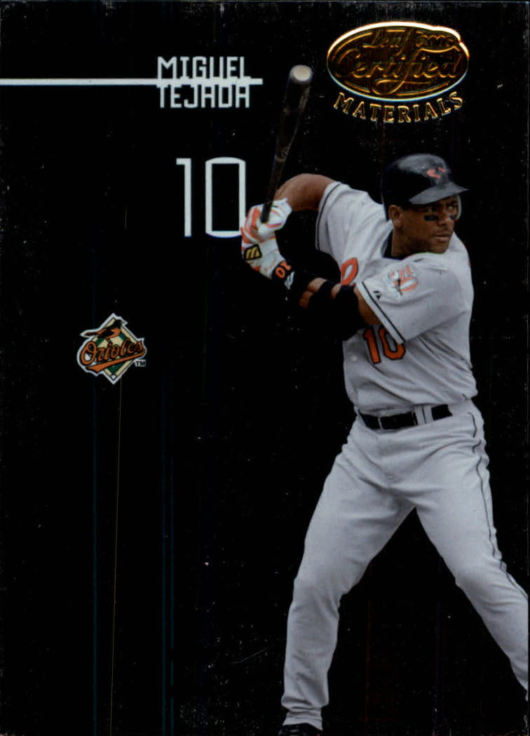 2005 Leaf Certified Materials #111 Miguel Tejada O's