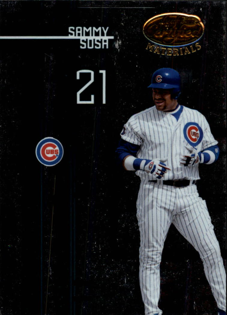 2005 Leaf Certified Materials #131 Sammy Sosa Cubs