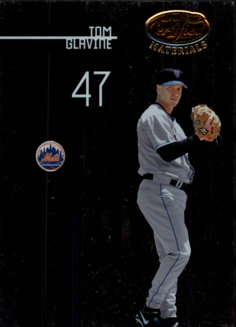 2005 Leaf Certified Materials #142 Tom Glavine Mets