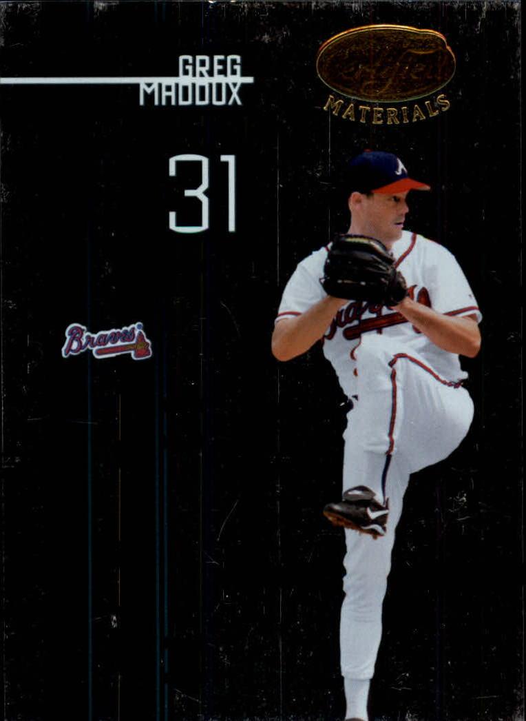 2005 Leaf Certified Materials #178 Greg Maddux Braves