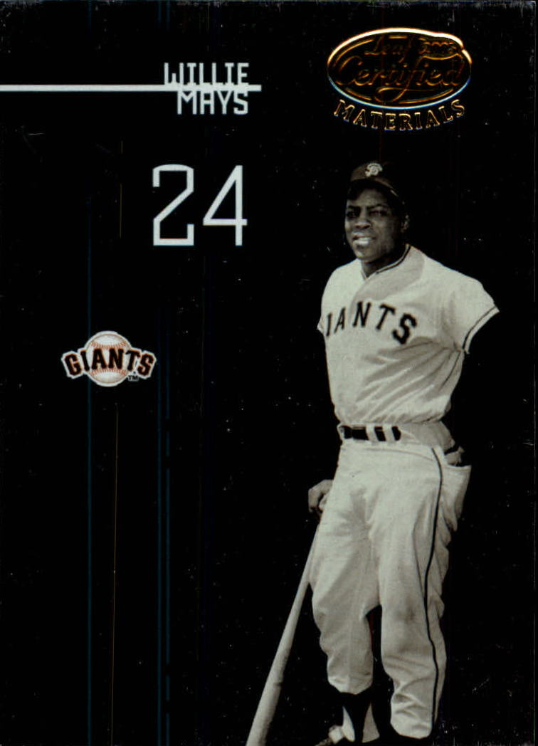 2005 Leaf Certified Materials #200 Willie Mays LGD