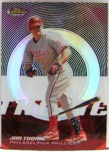 2005 Finest Refractors #32 Jim Thome
