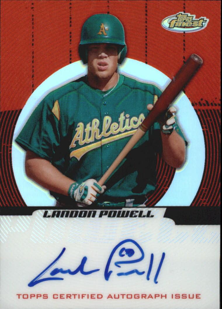 2005 Finest Refractors #149 Landon Powell AU