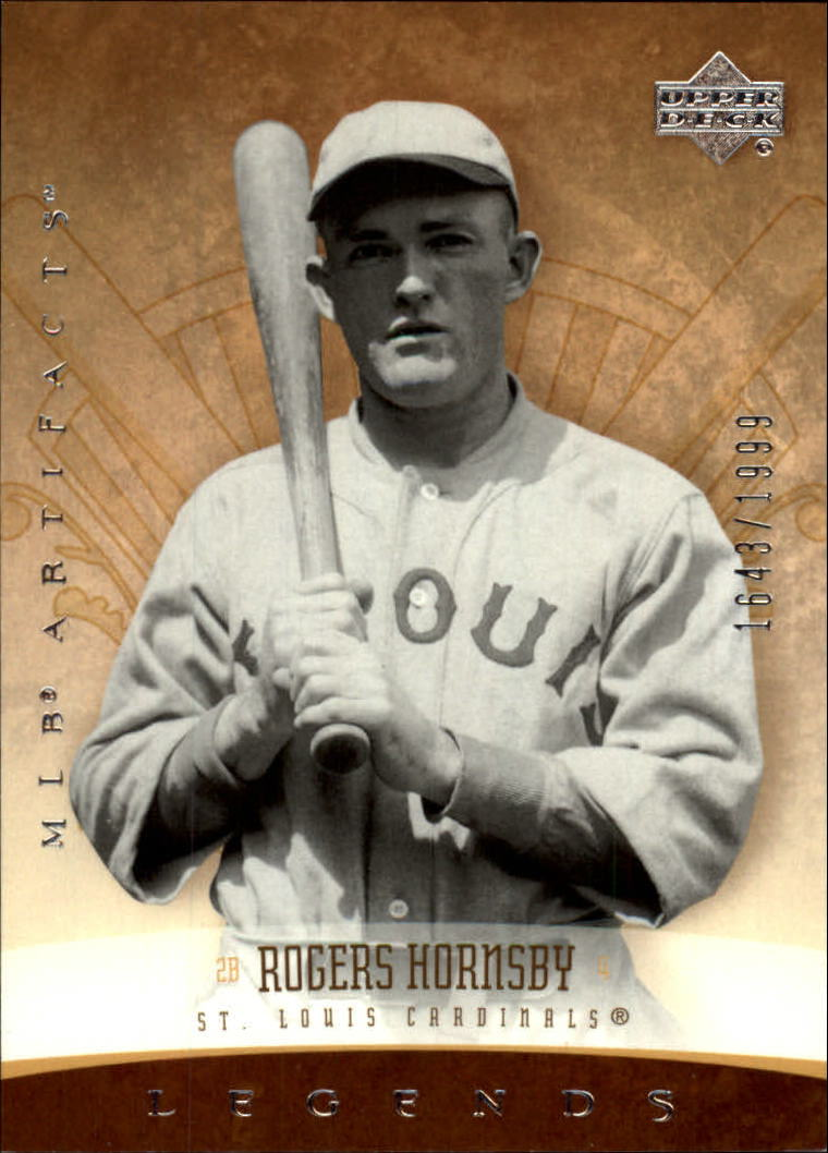 2005 Artifacts #187 Rogers Hornsby LGD