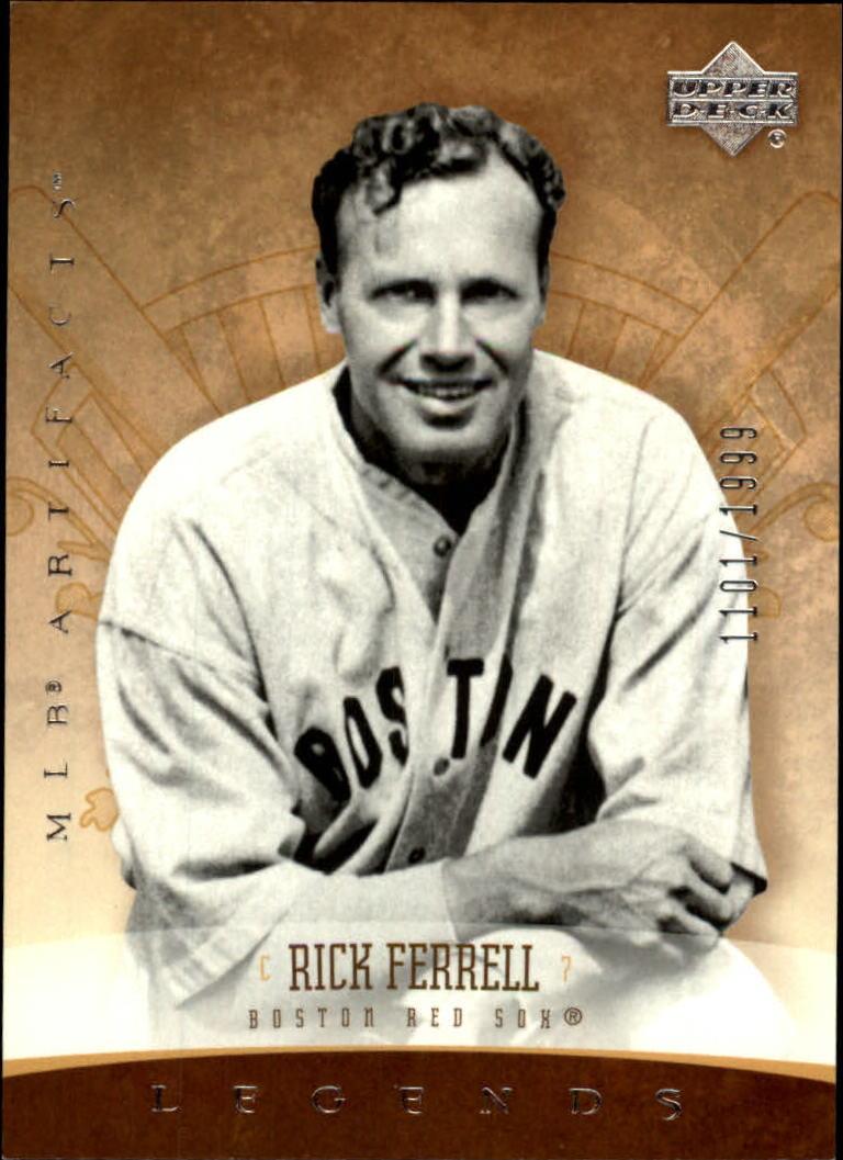 2005 Artifacts #191 Rick Ferrell LGD