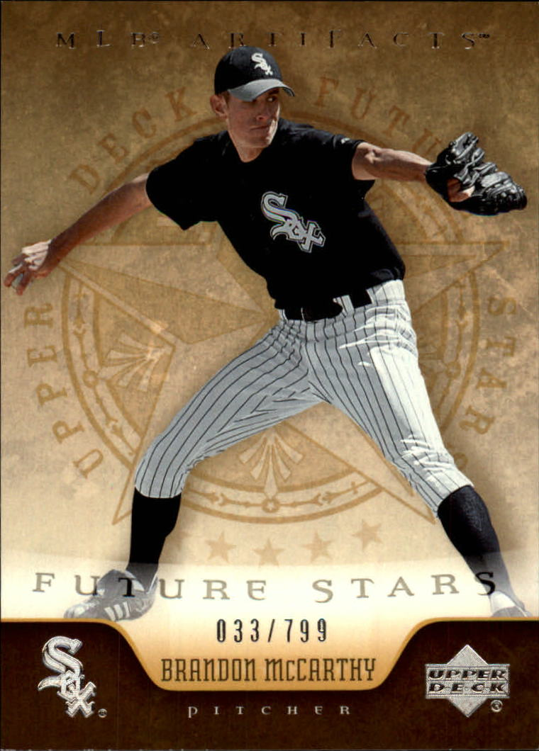 2005 Artifacts #206 Brandon McCarthy FS RC