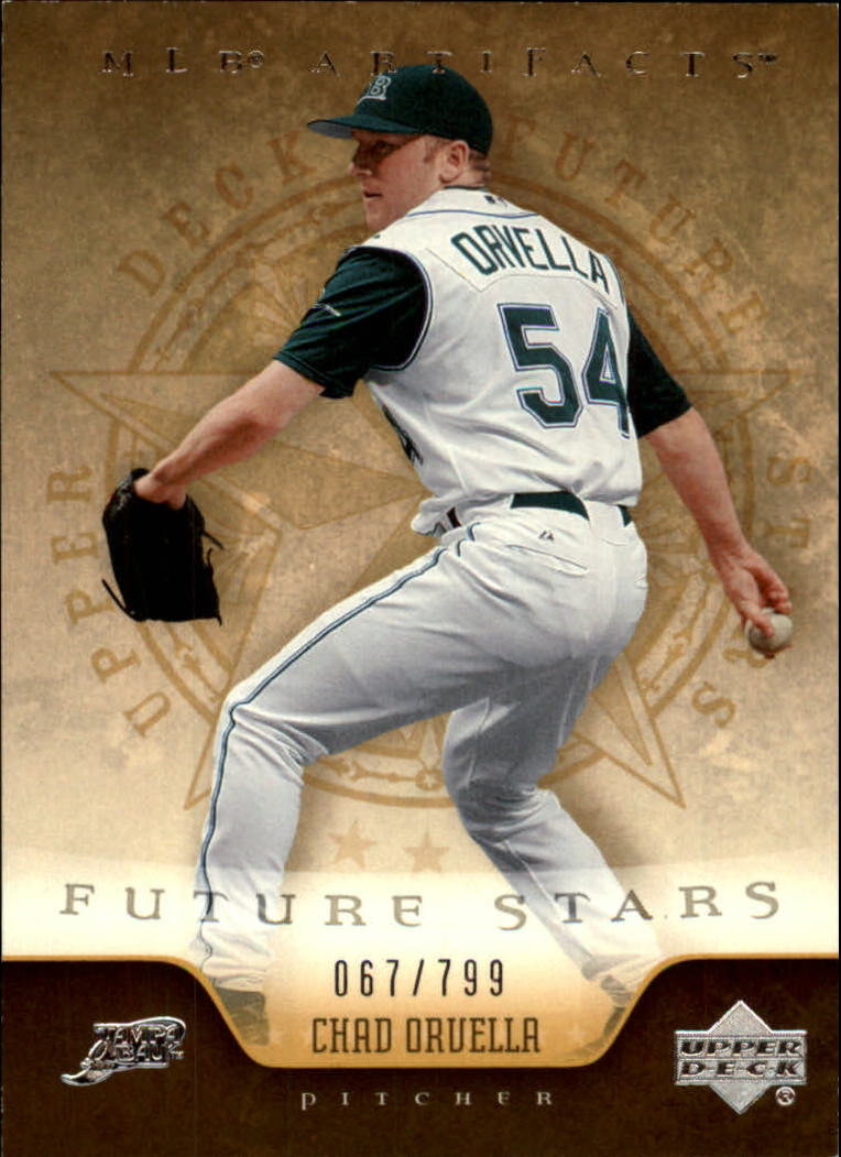 2005 Artifacts #210 Chad Orvella FS RC