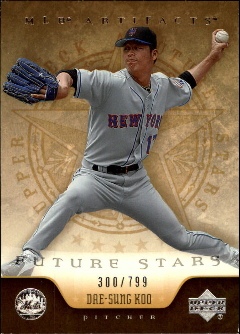 2005 Artifacts #215 Dae-Sung Koo FS RC
