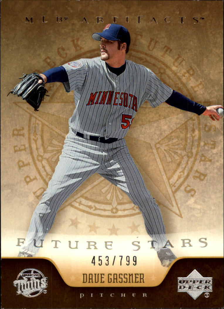 2005 Artifacts #216 Dave Gassner FS RC