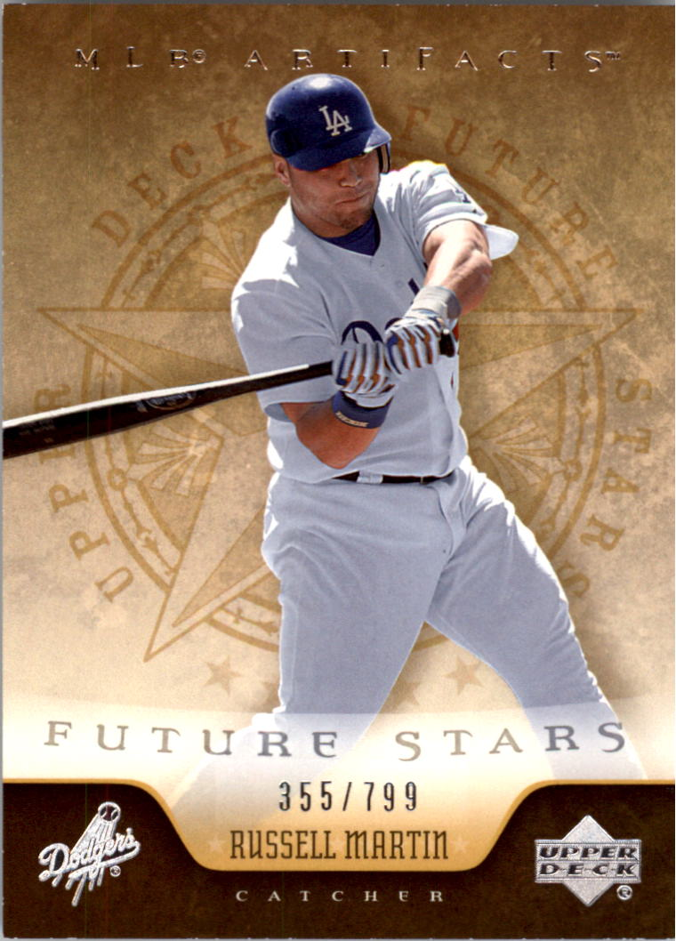 2005 Artifacts #265 Russell Martin FS RC