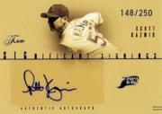 2005 Flair Significant Signings Blue #SK Scott Kazmir/250
