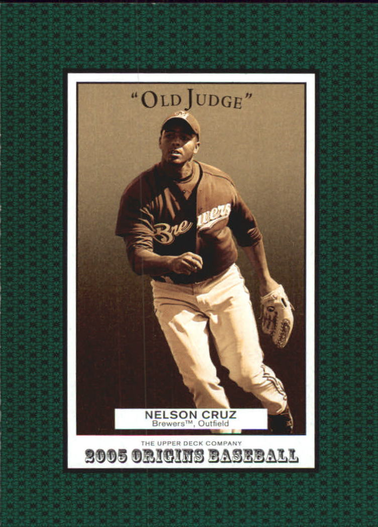 2005 Origins Old Judge #257 Nelson Cruz YS RC