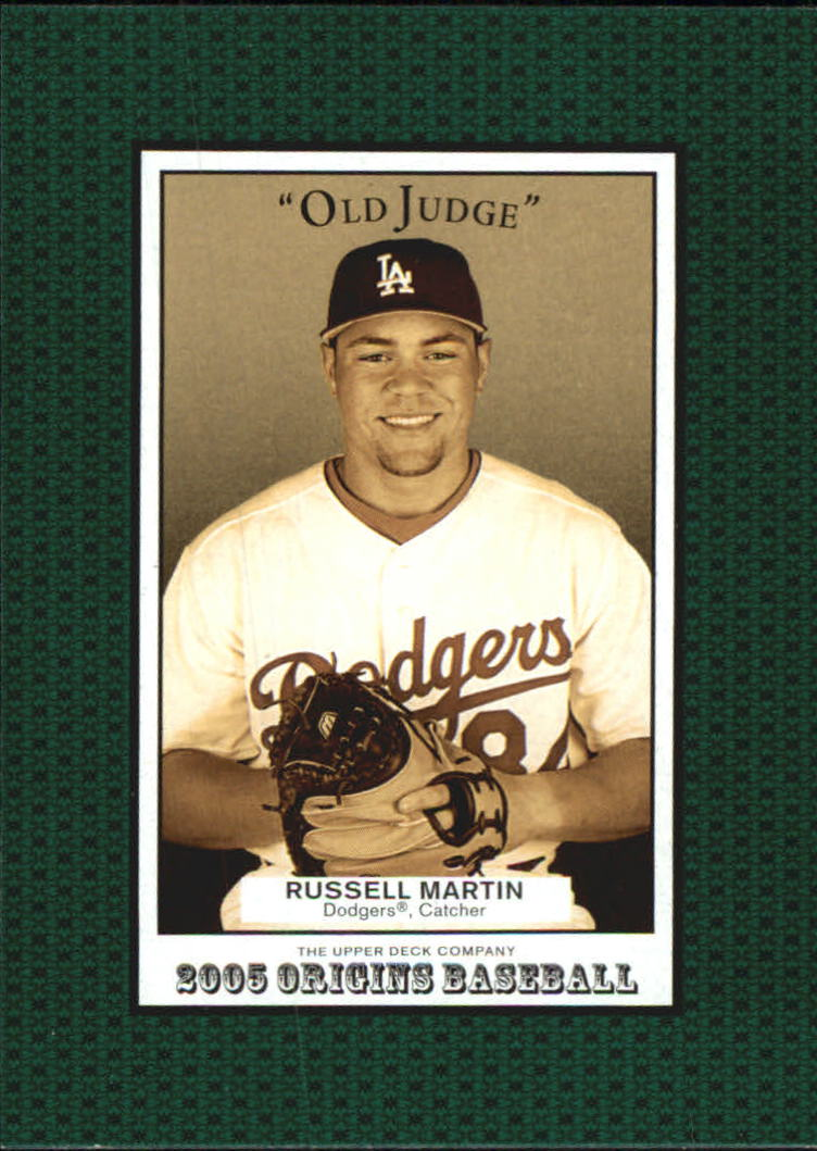 2005 Origins Old Judge #271 Russell Martin YS RC