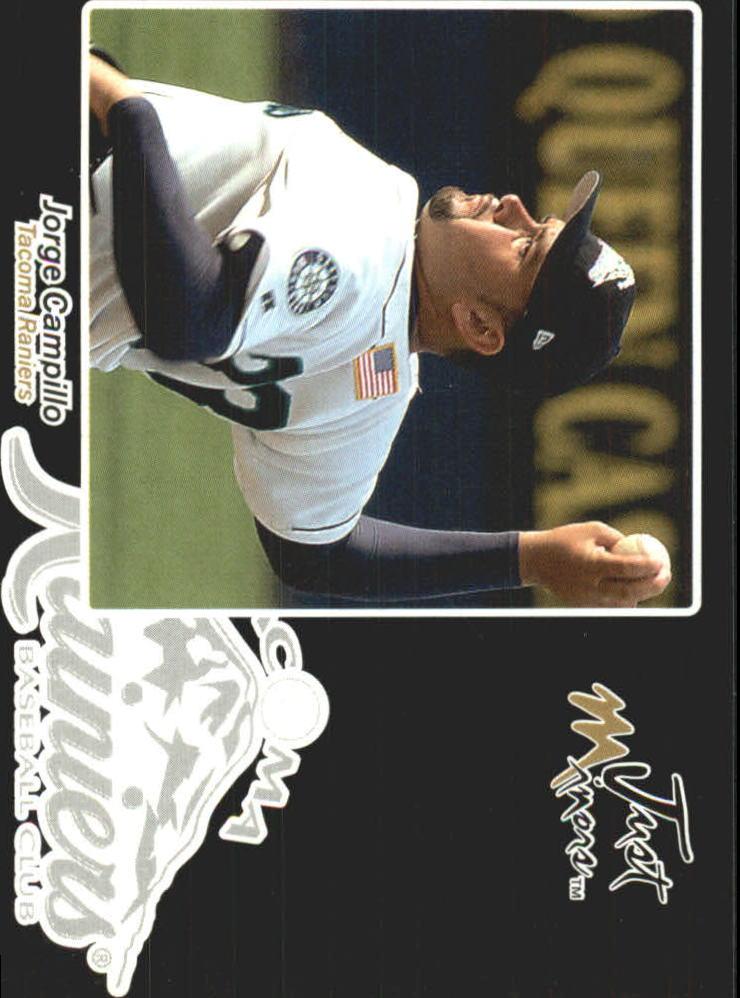 2005 Just Autographs Black #9 Jorge Campillo