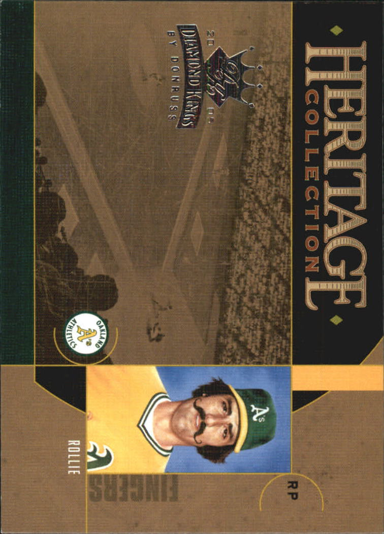 2005 Diamond Kings Heritage Collection #HC23 Rollie Fingers