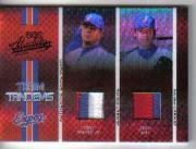 2005 Absolute Memorabilia Team Tandems Swatch Single Spectrum Prime Black #78 Tony Armas Jr. Jsy/Zach Day Jsy/135