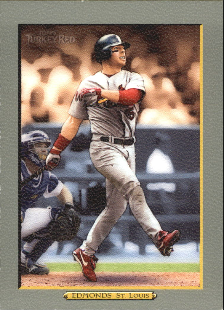 2005 Topps Turkey Red #3 Jim Edmonds