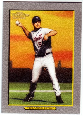 2005 Topps Turkey Red #272 Justin Verlander RC