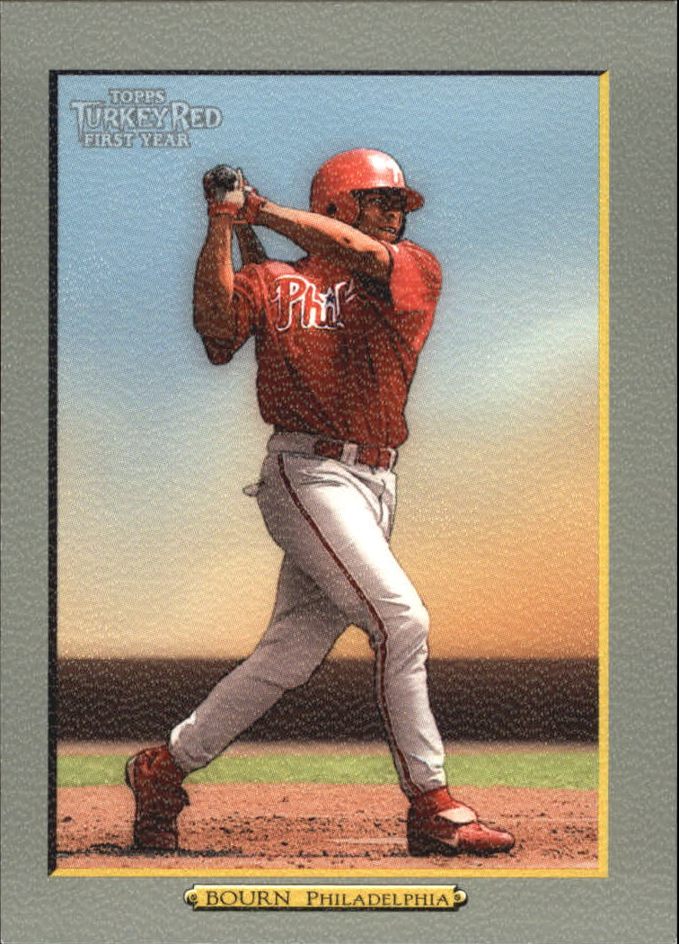 2005 Topps Turkey Red #281 Mike Bourn RC