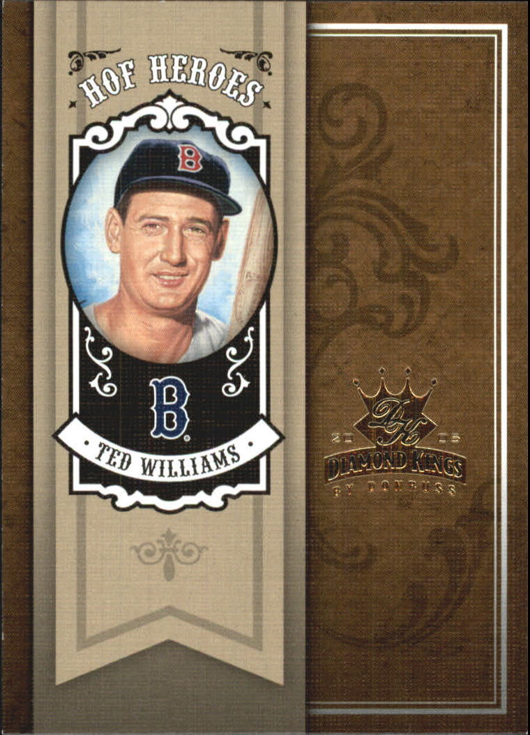 2005 Diamond Kings HOF Heroes #HH5 Ted Williams