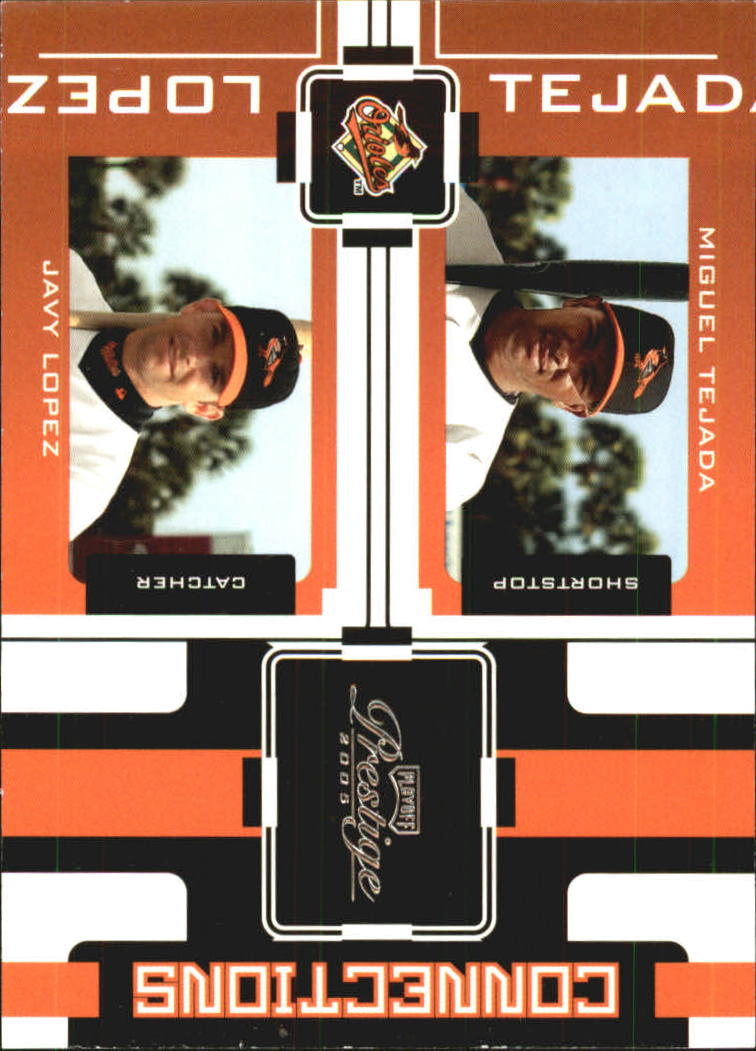 2005 Playoff Prestige Connections #15 M.Tejada/J.Lopez
