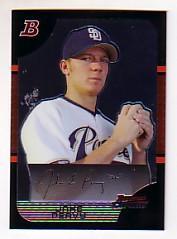 2005 Bowman Chrome #34 Jake Peavy
