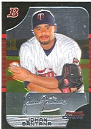 2005 Bowman Chrome #127 Johan Santana