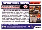 2005 Topps Update #162 Ken Griffey Jr. AS back image