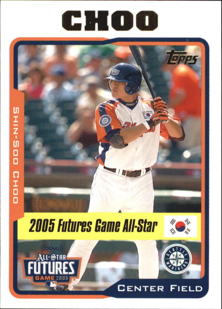 2005 Topps Update #204 Shin-Soo Choo FUT