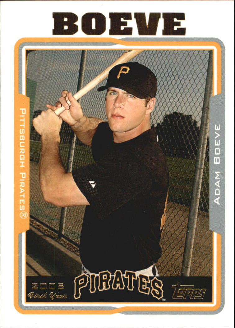2005 Topps Update #239 Adam Boeve FY RC