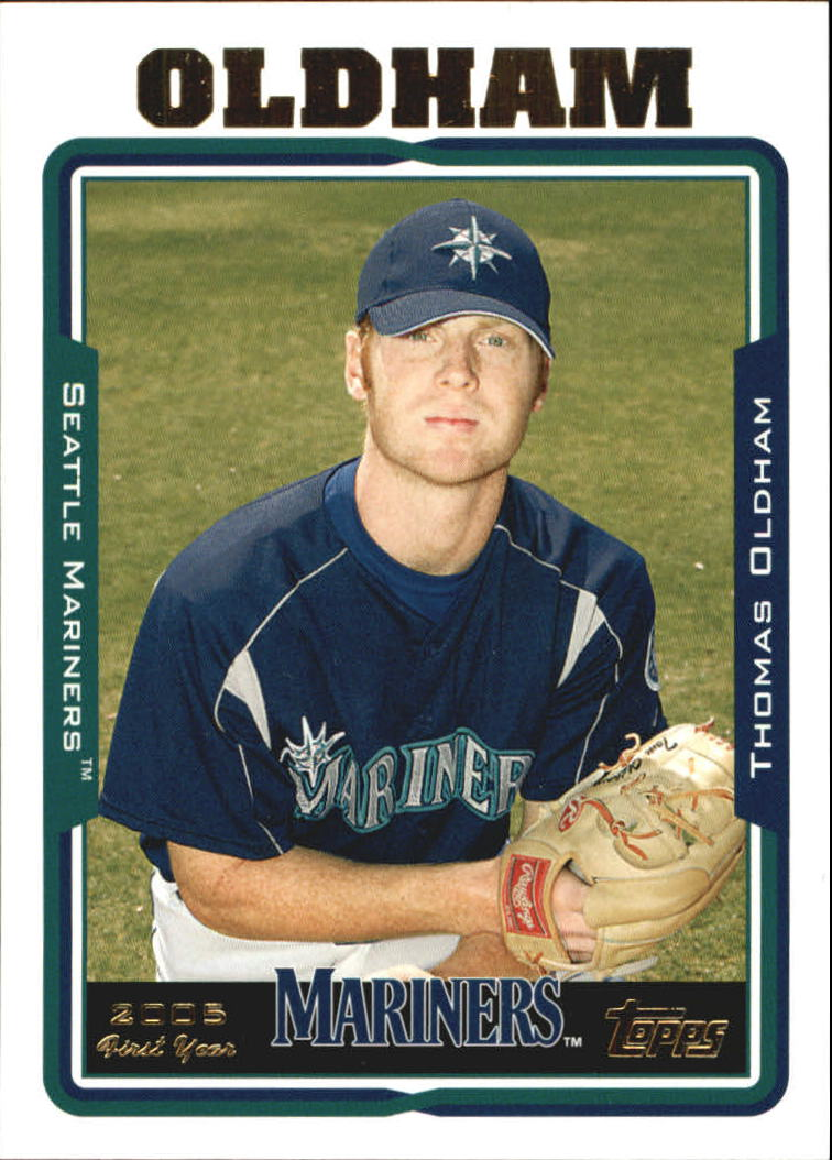 2005 Topps Update #240 Thomas Oldham FY RC