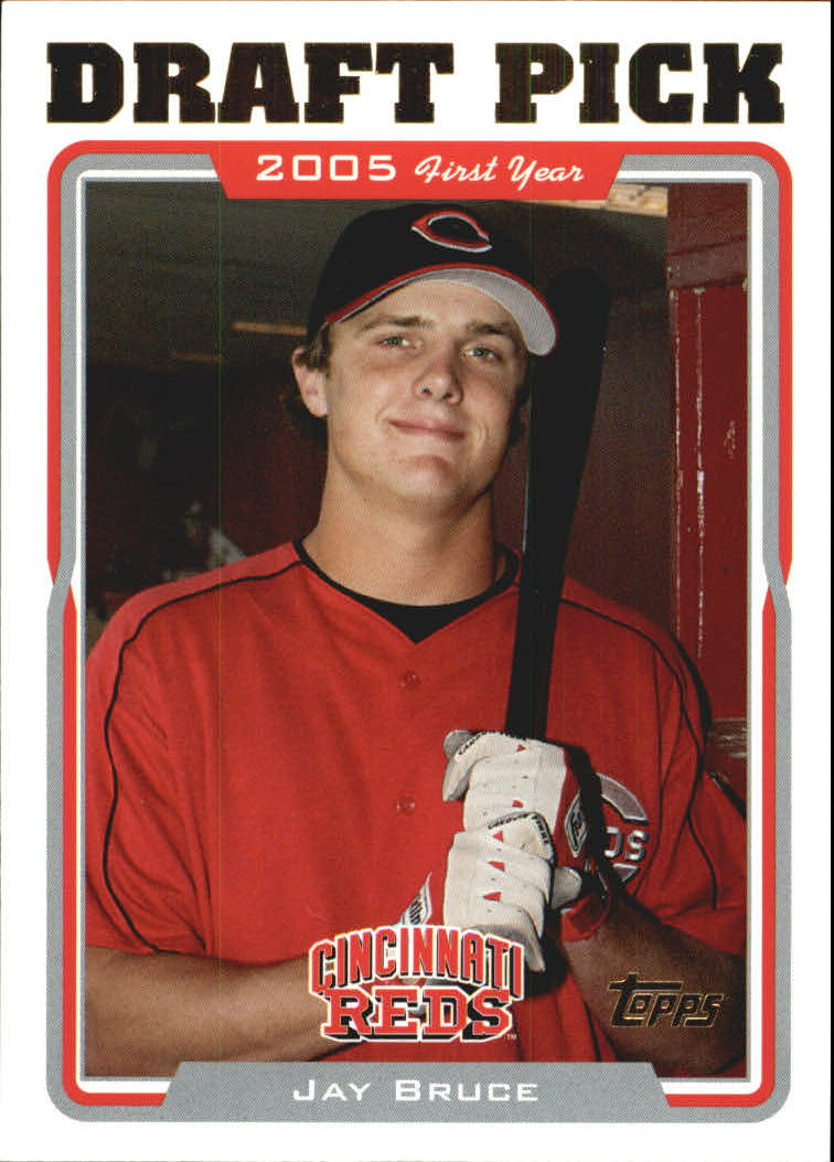 2005 Topps Update #325 Jay Bruce DP RC