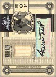 2005 Timeless Treasures HOF Materials Signature Bat #24 Willie Mays/25