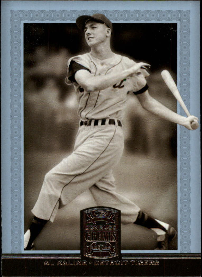 2005 Donruss Greats #1 Al Kaline
