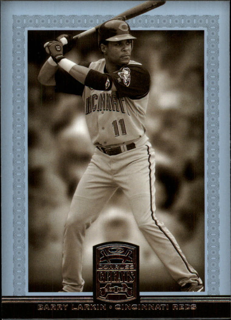 2005 Donruss Greats #4 Barry Larkin