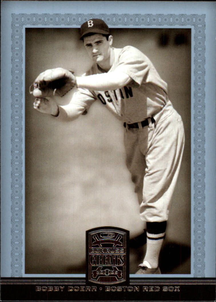 2005 Donruss Greats #9 Bobby Doerr