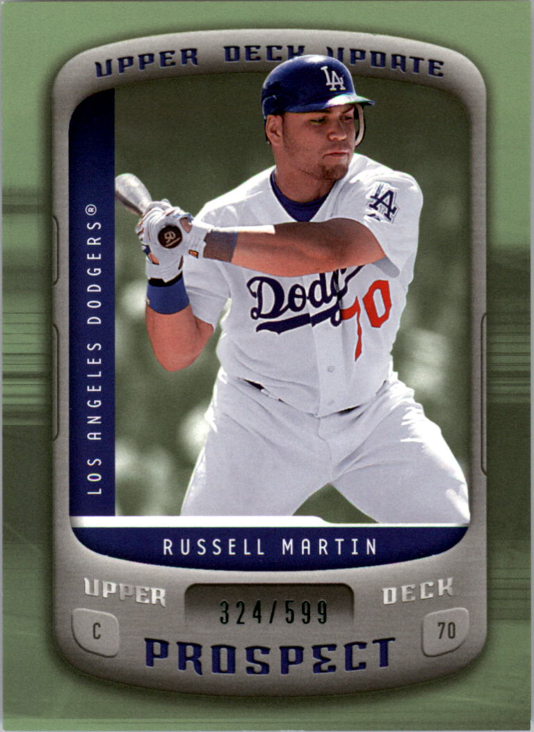 2005 Upper Deck Update #159 Russell Martin PR RC