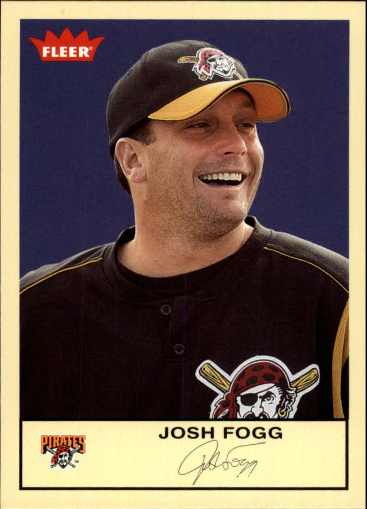 2005 Fleer Tradition #257 Josh Fogg