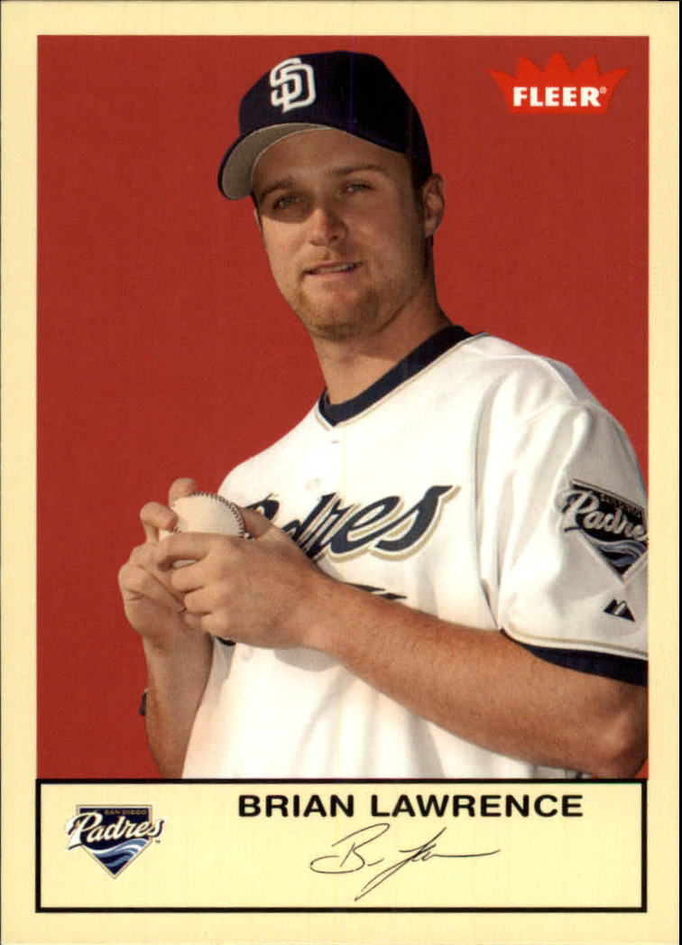 2005 Fleer Tradition #276 Brian Lawrence