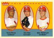 2005 Fleer Tradition #327 Molina/Rust/Wainwright TP