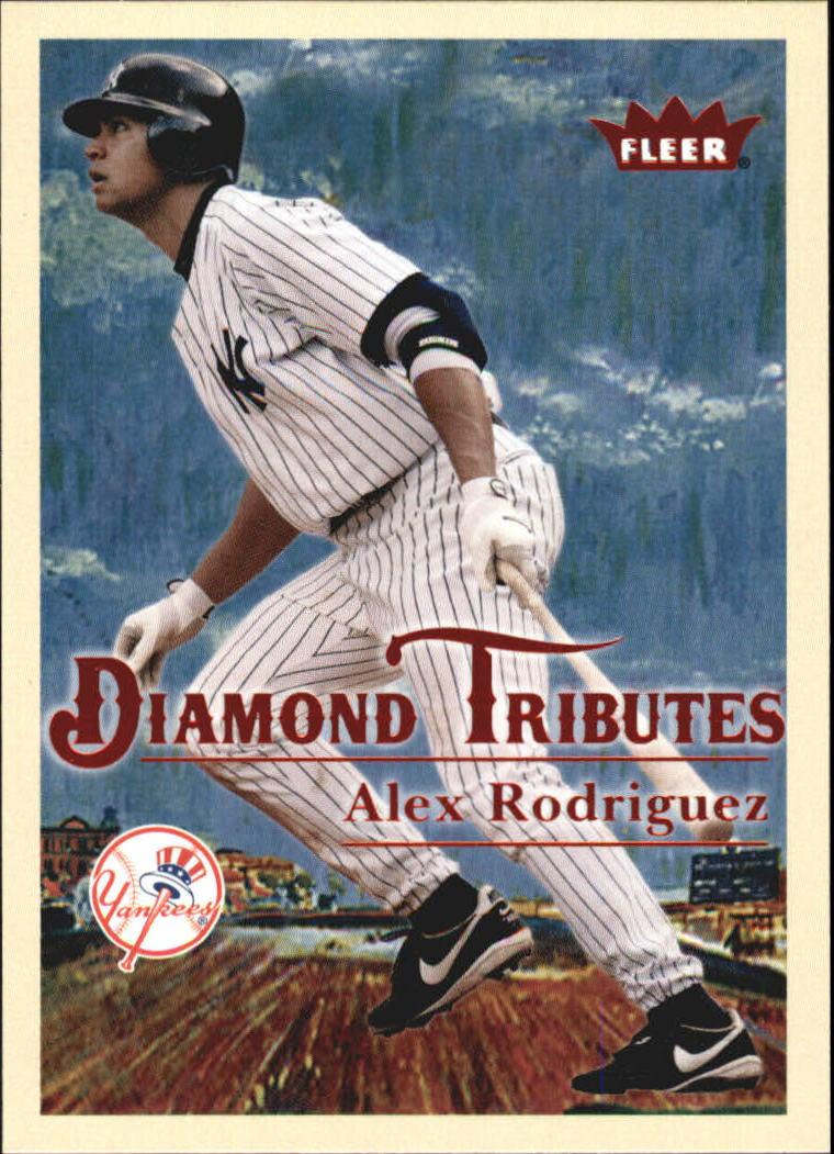 2005 Fleer Tradition Diamond Tributes #2 Alex Rodriguez